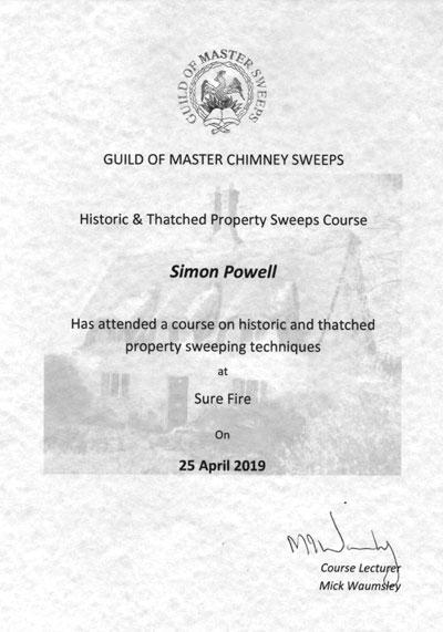 Guild Certificate